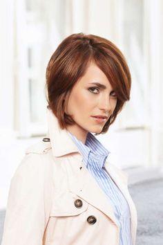 Frisur für mittelange Haare