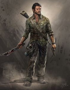 The Last of Us- Joel Concept Art