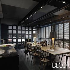 Assinado pelo estúdio Taipei Base Design Center, projeto de interiores visa à praticidade, uma vez que, evita o uso de paredesevita o uso de paredes para separar cada ambiente e sua devida funcionalidade.