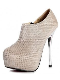 Risen Shimmery Ankle Boots