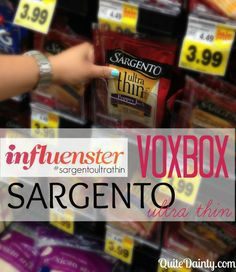 Influenster: Sargento Ultra Thin