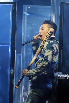 G-Dragon at BIGBANG 'MADE' Tour in Seoul
