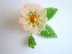 Рассветный цветок   biser.info - всё о бисере и бисерном творчестве