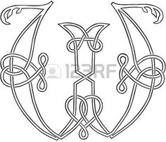 A Celtic Knot-work Capital Letter P | Tattoos & Ideas | Pinterest ...