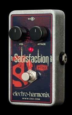 NAMM 2014: Electro-Harmonix Introduces Satisfaction Fuzz Pedal — with Demo Video   Guitar World
