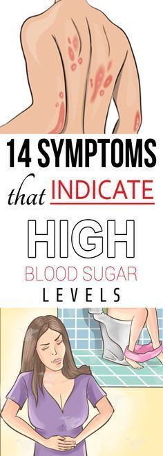 14 Signs Showing That Your Blood Sugar Is Very High -