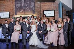 The City Grill  has some great photo op spaces for your wedding days pics Photographed by @erynsheaphoto  http://weddingshows.com