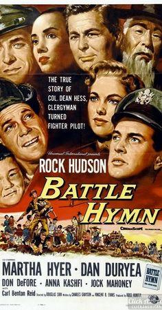 Battle Hymn (1957) Last nights movie.