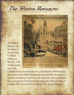 Great US History Printables