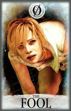 Heather Mason as The Fool - Silent Hill tarot Card.