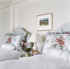A New Beach Home on Cape Cod, Home Accessories, A New Beach Home on Cape Cod – Blue and White Home. Bunk Bed With Desk, Cape Cod Style House, New England Homes, Traditional Bedroom, White Houses, Elegant Homes, Beautiful Bedrooms, Beautiful Homes, Bedroom Decor