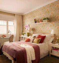 Porque hoje é sexta, a inspiração do dia é um quarto bem fofo e romântico!!!!! via Lindo!!!! bjo