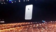 iPhone 6   imágenes filtradas de la proyección de la próxima WWDC14