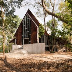 Gallery of Sattrapirom Meditation Center / Ken Lim Architects - 6