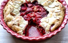 Rustic Plum and Peach Pie