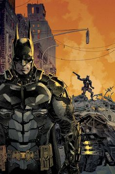 BATMAN: ARKHAM KNIGHT #1 Written by PETER J. TOMASI Art by VIKTOR BOGDANOVIC and ART THIBERT Cover by DAN PANOSIAN 1:10 Game art variant cover 1:25 Variant cover by GARY FRANK On sale MARCH 11 • 40 pg, FC, $3.99 US • RATED T • Digital first