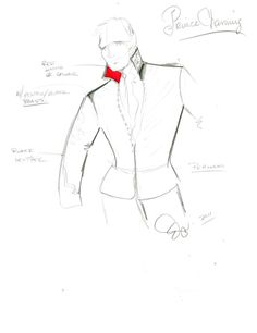 DIY your photo charms, compatible with Pandora bracelets. Make your gifts special. Make your life special! Original sketch for Once Upon A Time Prince Charming costume - Eduardo Castro Hollywood Theater, Prince Charming Costume, Cinderella Costume, Theatre Costumes, Fantasy Costumes, Photo Charms, Vintage Costumes, Fashion Sketches, Once Upon A Time
