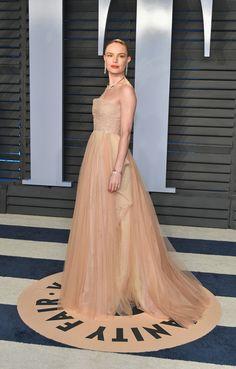Kate Bosworth, Celebrity Red Carpet, Celebrity Look, Oscars, Nice Dresses, Formal Dresses, Hollywood, Vanity Fair Oscar Party, Red Carpet Looks