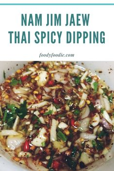 """Dipping Sauce is the """"main course"""" of Thai cuisine, it always has different . Grilled Fish Recipes, Seafood Recipes, Cooking Recipes, Tilapia Recipes, Grilled Salmon, Cooking Tips, Thai Dipping Sauce, Dipping Sauces, Orange Recipes"""