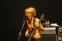 Ryota Kohama of ONE OK ROCK from ONE OK ROCK Live in Manila. Photo taken by PULP Live World (JHG Photography)