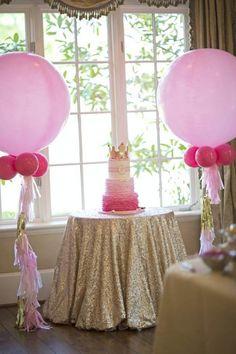 blog vittamina decoração aniversário infantil party decor kids princess aniversario de princesa ideias para aniversario de menina aniversario em casa bolo de princesa