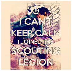Attack on Titan -- {anime, manga, otaku, fangirl, anime lover, anime freak, anime fan, scouting legion}