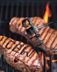 Now that you're a pro at the grill, put a personal stamp on your finished product with a monogrammed brander.