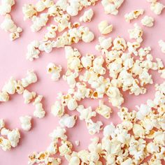 popcorn, food, and pink image Pastell Wallpaper, Nora Valkyrie, Pink Aesthetic, Hannah Baker Aesthetic, Rwby, My Favorite Color, Pretty In Pink, Snacks, Kawaii