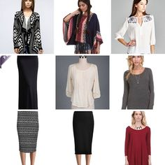 New items, perfect fall pieces!