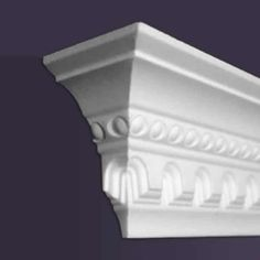 Want to add a design element to your room? Choose from a variety of decorative foam crown molding options and sizes. Easy to install! Crown Molding Installation, Foam Crown Molding, Molding Ceiling, Home Remodeling Diy, Door Trims, Schaum, Textured Walls, Form, Design Elements
