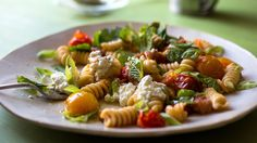 Pasta With Burst Cherry Tomatoes by Melissa Clark