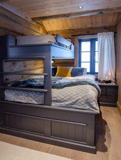 Bunk Bed Rooms, Bunk Beds, Bedrooms, Cabin Interiors, Kids Bedroom, Guest Room, Cottage, Woodworking Plans, Villa