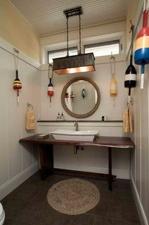 First Coast Home on the Third Coast - eclectic - bathroom - chicago - by Berneche2 Architecture