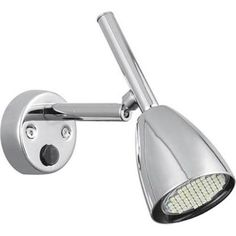 MINGS MARK 9090112 Reading Light LED 12 Volt Dc Wall Mount Chrome With On- Off Switch