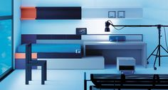 Life box 15. Habitación juvenil con cama kubox y mesa escritorio