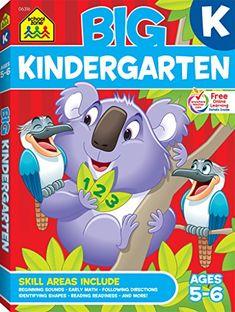 Big Kindergarten Workbook, Ages 5-6, K, 320 pages, outsta...