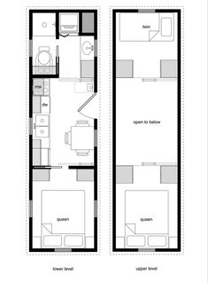 3 bedroom 2 bath tiny home tiny houses pinterest grundrisse zuhause und h uschen. Black Bedroom Furniture Sets. Home Design Ideas