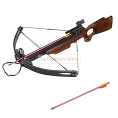 Crossbow Hunting | Thecrossbowstore: 150 lbs Heavy Duty Wooden Hunting Crossbow Package