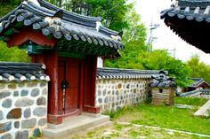 Namganjeongsa, Uam Historic Park Daejeon, Korea April 2014