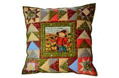 https://www.facebook.com/lizadecor #patchwork #pillow