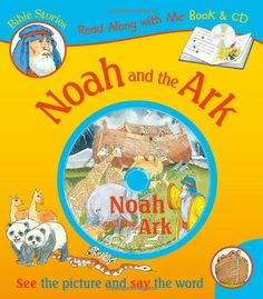 Noah and the Ark (Bible Stories Read Along With Me Book & CD)
