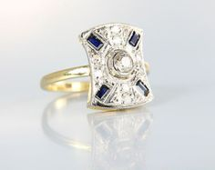 /Edwardian Engagement Ring