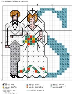 alfabeto del matrimonio S