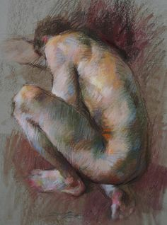 "Romain by Gwenneth Barth-White Pastel ~ 18"" x 14"""