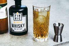 FINRIC Sweet & Bitter - Whiskycocktail Rezept, Mixtipp, Cocktailtipp 🥃 Whisky Cocktail, Blended Whisky, Cold Brew, Coffee Bottle, Brewing, Sweet, Food, Lemon Grass, Tips