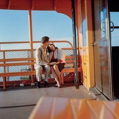 :: Janet Delaney, 6am on the Staten Island Ferry, 1985 ::
