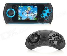 2.8'' LCD Portable 16Bit SEGA Game Player w/ Wireless Controller