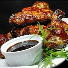 Half Time Hoisin Chicken Wings - add a glug of sriracha sauce for zing. : allrecipes