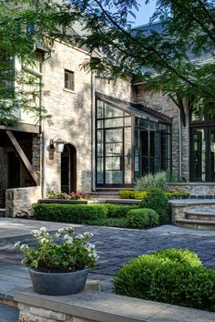 The Preppy Shabby Style Lake Geneva residence, WI. Outdoor Rooms, Outdoor Gardens, Outdoor Living, Exterior Design, Interior And Exterior, Mansion Homes, Lake Geneva, Lake Tahoe, The Great Outdoors