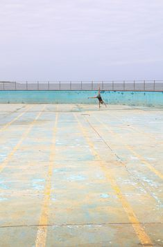 This abandoned pool is in Scottburgh on the Wild Coast. Has not seen any water for a while, so i made it to my gym :-)